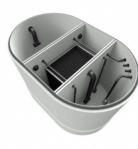 """Vollbiologische Waschwasser-Aufbereitung-INOWA """"System C6-BIO"""""""
