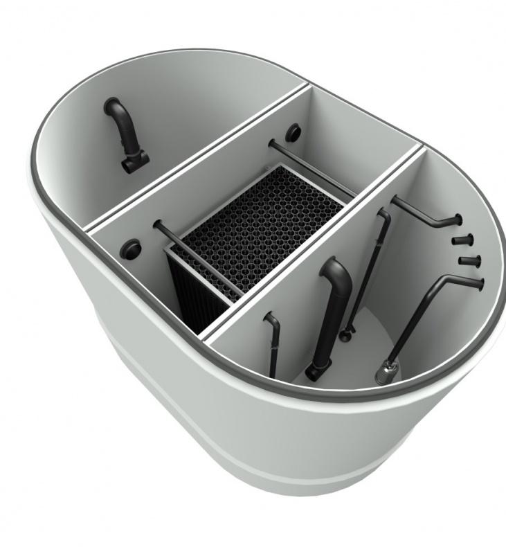 Vollbiologische Waschwasser-Aufbereitung